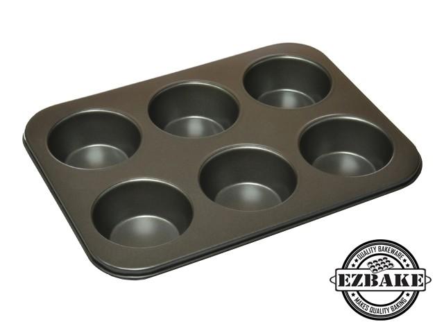 6杯大杯型烤盤  MUFFIN PAN JUMBO 6 CUP