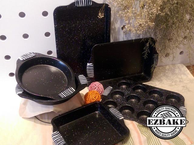矽膠手柄烤盤6件組