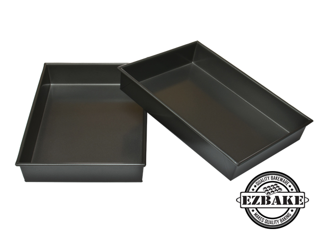 【NG福利品】34cm摺邊布朗尼烤盤 OBLONG PAN FOLDED 34*23*5 CM